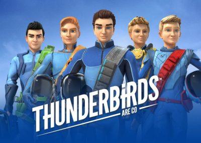 Dubbing stemmer til tegnefilm Thunderbirds