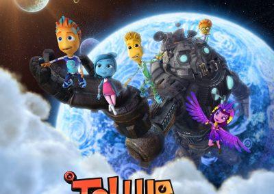 stemme til tellur aliens tegnefilm